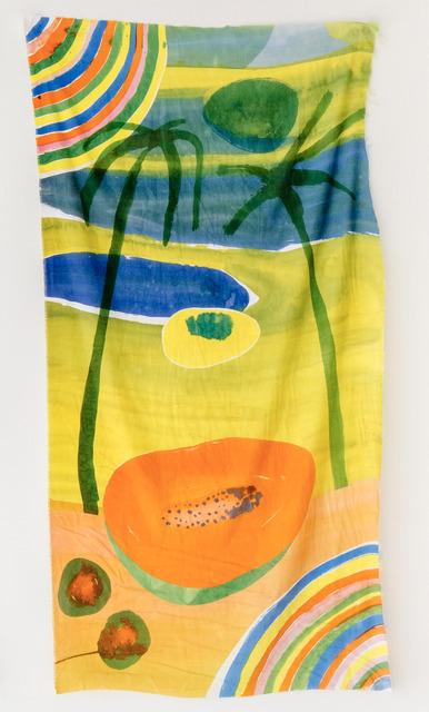 , 'Untitled (Papaya Sunset),' 2017, Tile Blush