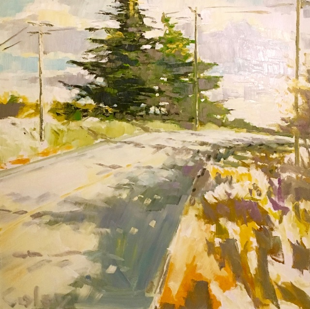 , 'Cypress Tree on Panoramic Highway #9,' 2016, Desta Gallery