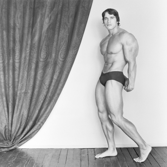 , 'Arnold Schwarzenegger,' 1976, ARoS Aarhus Art Museum