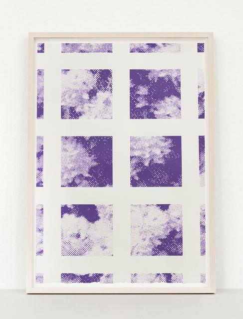 Elizabeth Corkery, 'Purple Trellis', 2013, Print Club Ltd.