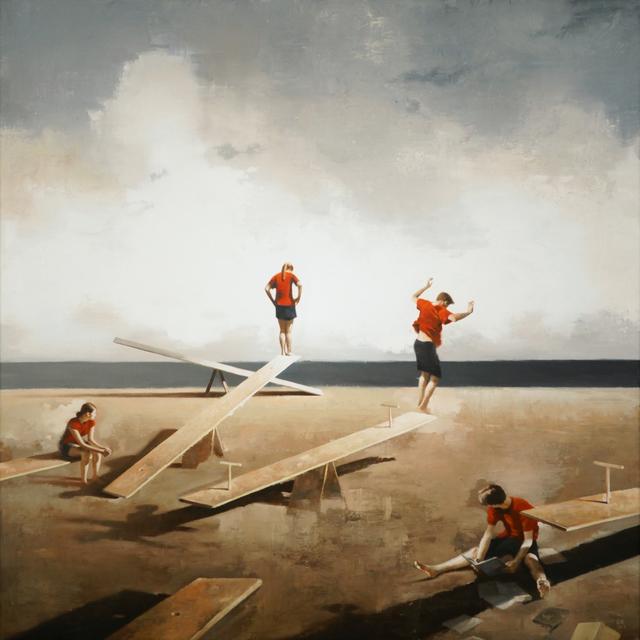 , 'See Saw,' 2013, Gallery Henoch