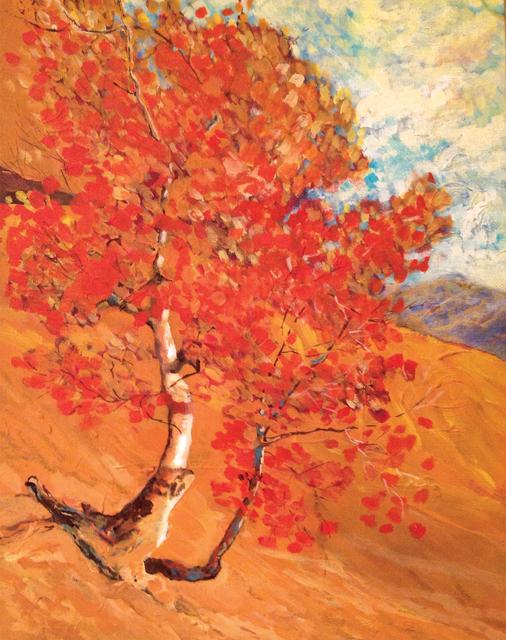 Kathy Dana, 'Hillside Afternoon', Tim Collom Gallery