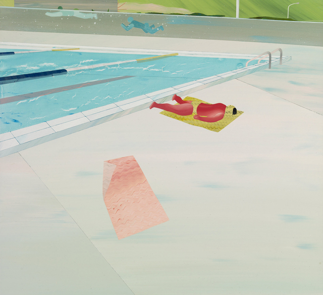 Yang-Tsung Fan, 'Swimming pool series-Sunburn', 2013, Aki Gallery