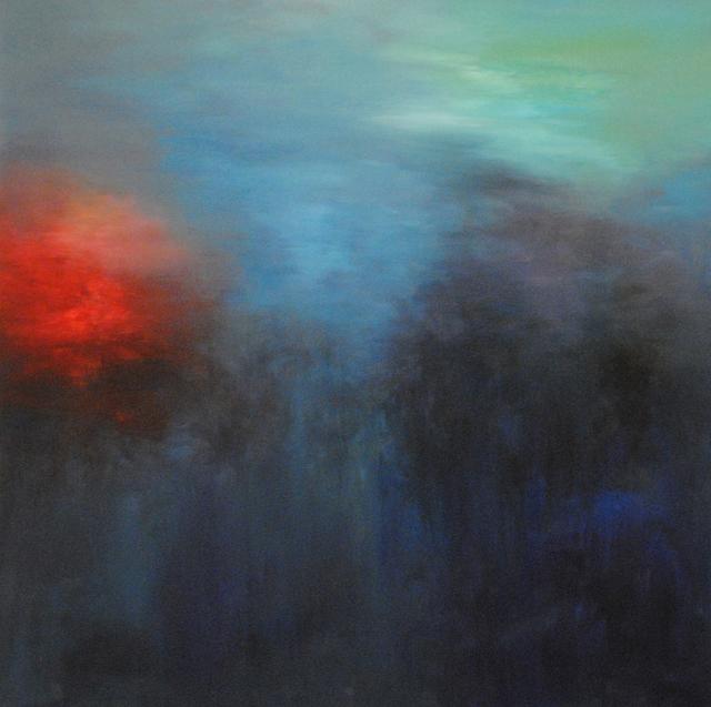 MD Tokon, 'Light from the Sea', 2013, Painting, Acrylic on Canvas, Isabella Garrucho Fine Art