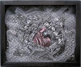 , 'Night Hunter Shadow Box #4,' 2011, Anita Beckers