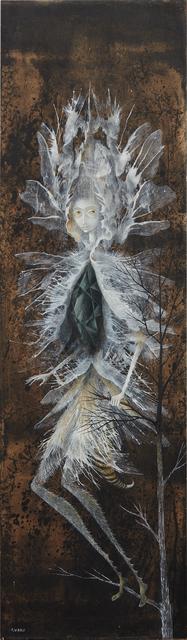 Remedios Varo, 'La Mujer libélula (Dragonfly Woman)', ca. 1961, Phillips