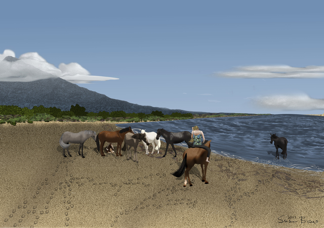 , 'A Gentle Herd,' 2014, Fountain House Gallery