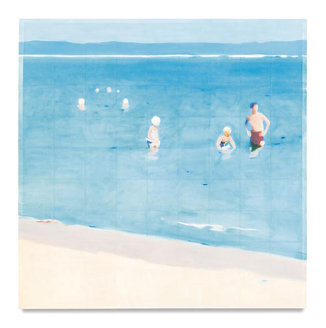 , 'Beach (Detail),' 2017, Miles McEnery Gallery