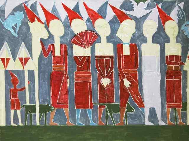 , 'Procession,' 2009, Vanda Art Gallery