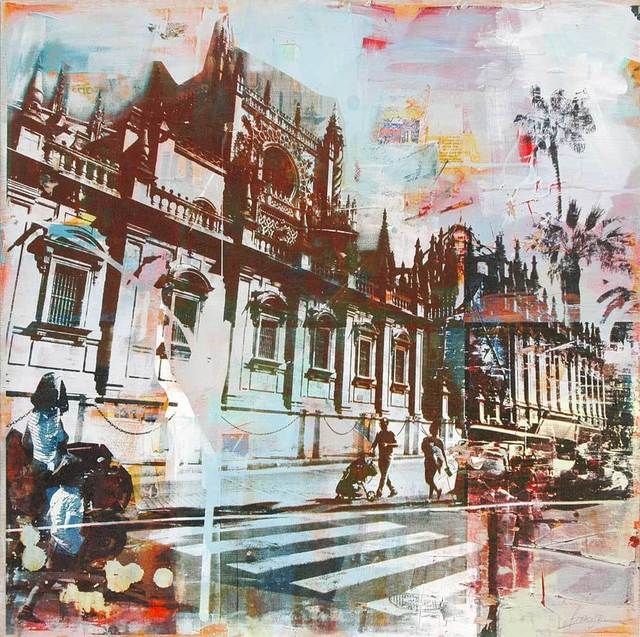 , 'Crossing, Seville,' 2016, Adam Gallery