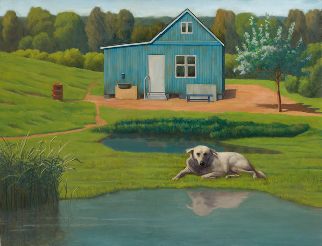 , 'Boris on Dacha,' 2016, Dan Gallery