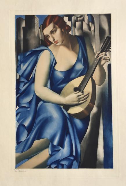 , 'Woman with Mandoline (Femme a la Guitare),' ca. 1930, Denis Bloch Fine Art