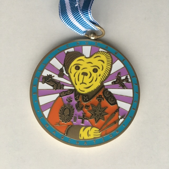 Grayson Perry, 'Teddy Bear Necklace Medal (Alan Measles)', 2018, New Art Editions