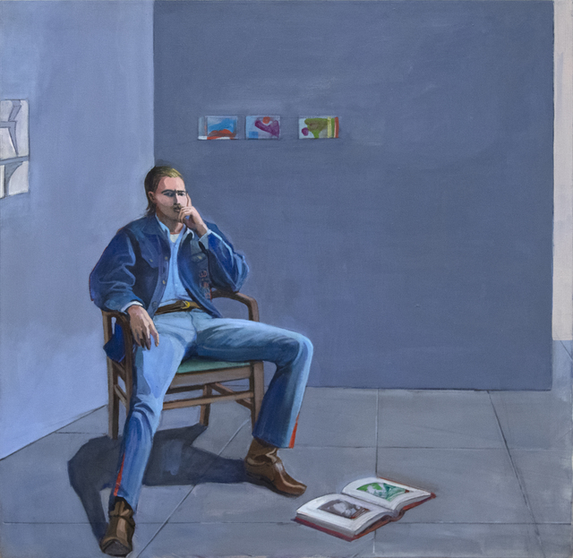 William Theophilus Brown, 'Jim Christiansen (Open Book)', 1970, Heather James Fine Art