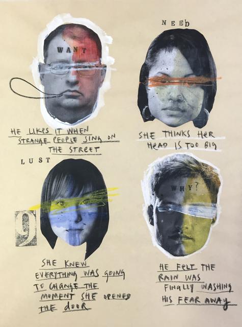 , 'Need,' 2014, The Hue