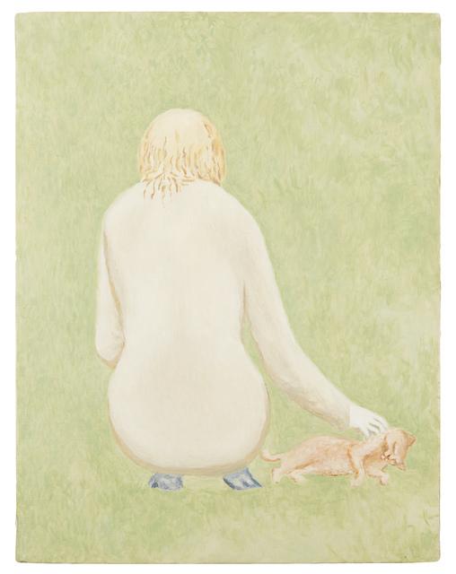 , 'Girl and cat,' , Fleisher/Ollman