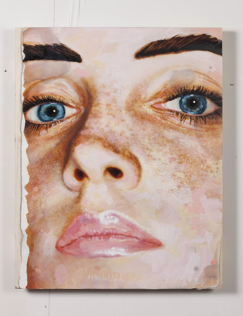 , 'The Face,' 2014, Almine Rech