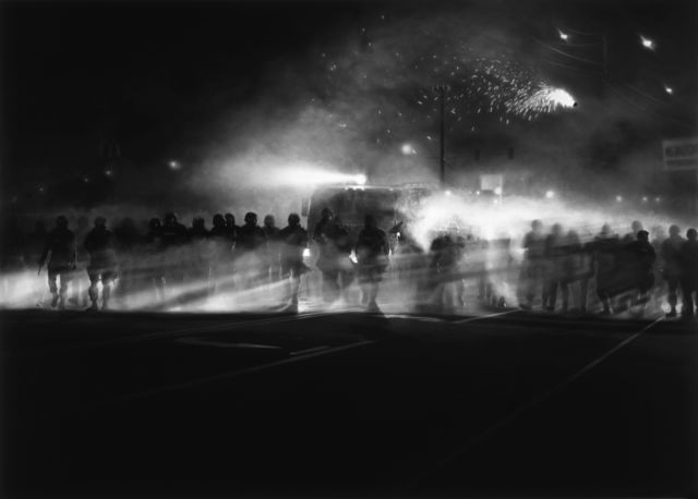 , 'Untitled (Ferguson Police, August 13, 2014),' 2014, Brooklyn Museum