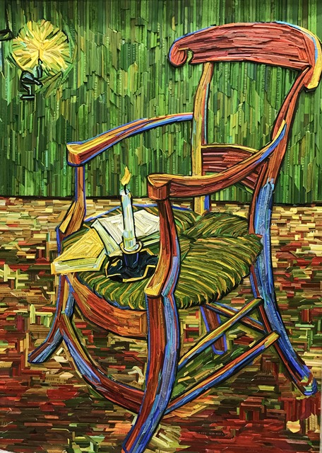, 'Monument- Gogh's Chair #5,' 2017, BLANK SPACE
