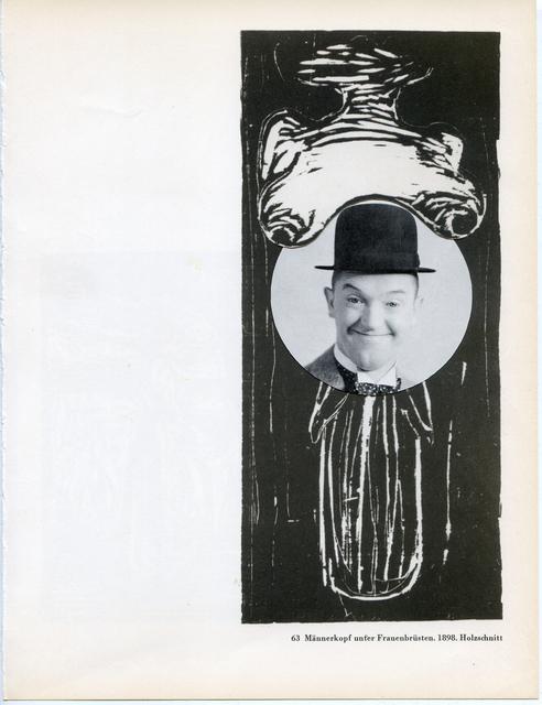 , 'Collage Nr. 496 (Doof/Munch),' 2011, Niklas Schechinger Fine Art.