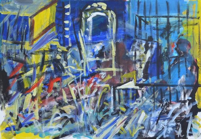 , 'Artist's Studio,' 2018, Janet Rady Fine Art