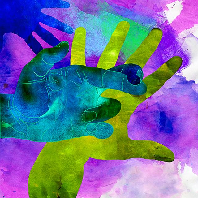 , 'Hands Very Lucky,' , Rimonim Art Gallery