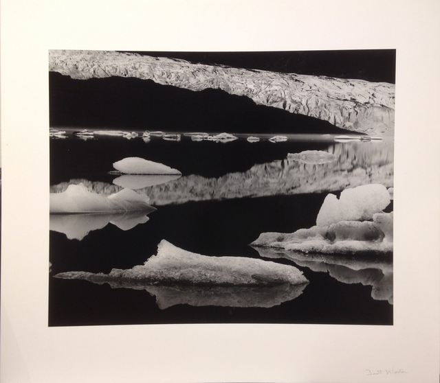 , 'Mendenhall Glacier, Alaska,' 1973-printed no later than 1976, Scott Nichols Gallery