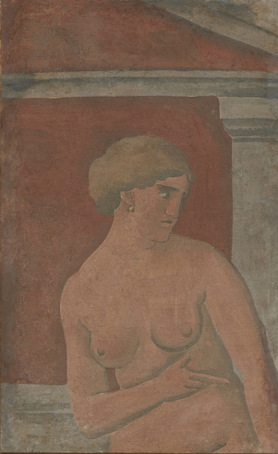 , 'Desnudo de mujer con frontón [Nude Woman with Pediment],' 1926, Acquavella Galleries