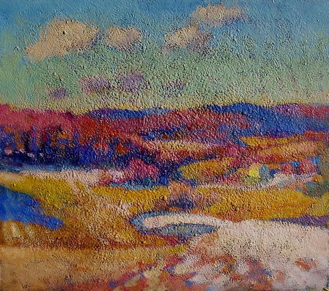 Don Wynn, 'Fields and Hills', 2019, Keene Arts