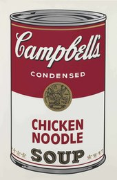 Chicken Noodle, from Campbell's Soup I