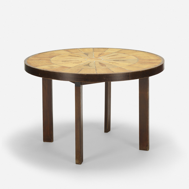Vallauris, 'dining table', c. 1965, Wright