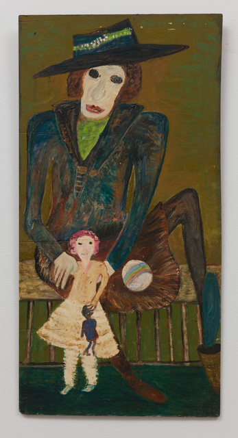 , 'Untitled (Figure in Black Hat with Child and Doll) ,' , The Good Luck Gallery
