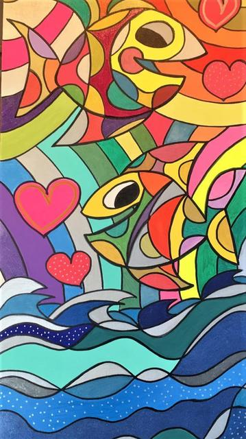 Jack Ottanio, 'Love to fly', 2021, Painting, Acrylic on canvas, SmART Coast Gallery