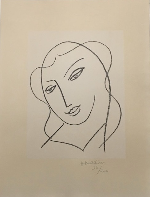, 'Etude pour la Vierge, Tete Voilee,' 1950, Galerie Céline Moine & LGFA