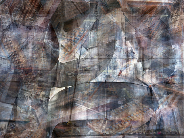 , 'W.T.C: Concrete Abstract #3,' 2011-2013, Julie M Toronto