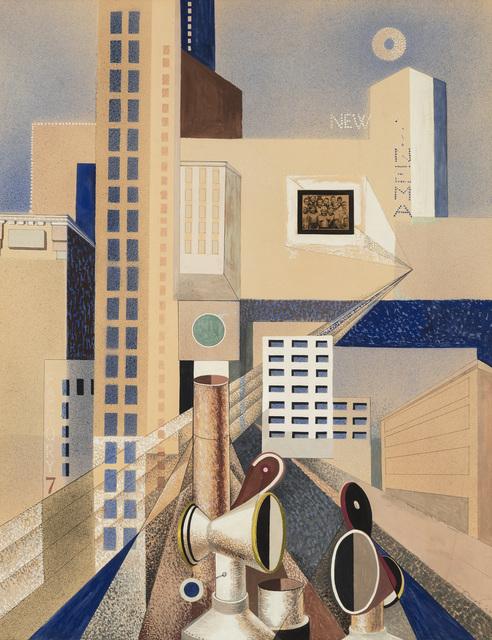 , 'City Forms,' 1937, Menconi+Schoelkopf