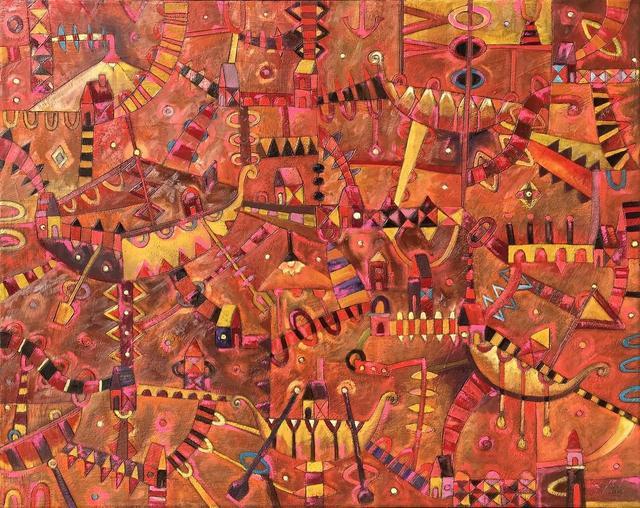 , 'Barcos Vikingos,' 2017, Aura Galerias