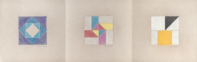 , 'Três desenhos,' 1970, Ronie Mesquita Galeria