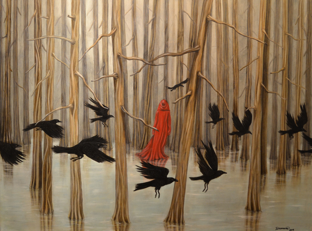 , 'Dream of Ravens,' 2014, Fazakas Gallery