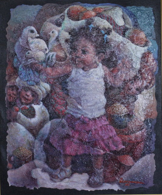 , 'Jeux d'Enfants,' 2007, Myriam Nader Haitian Art Gallery
