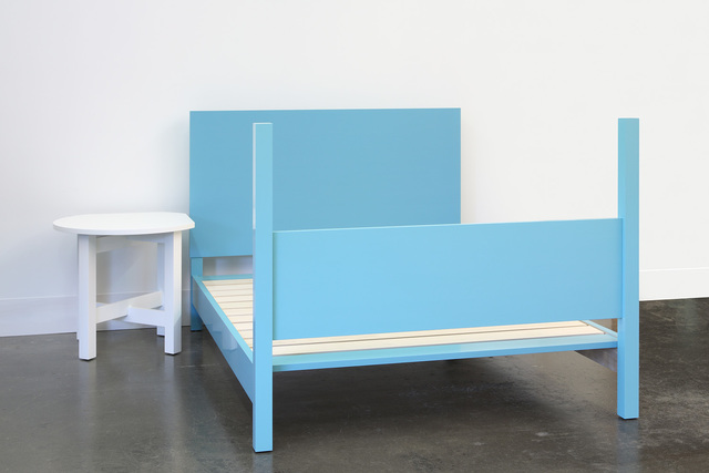 , 'Blue Bed,' 2014, Lora Reynolds Gallery