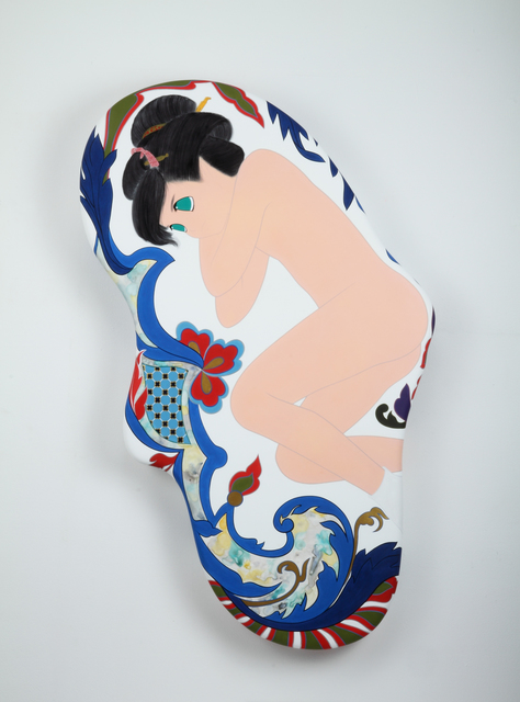 , 'hikaru kawa mo,' 2011, Aki Gallery