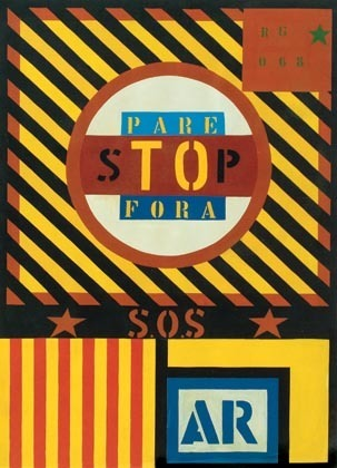 , 'Tô Fora SP ,' 1968, Galeria de Arte Ipanema
