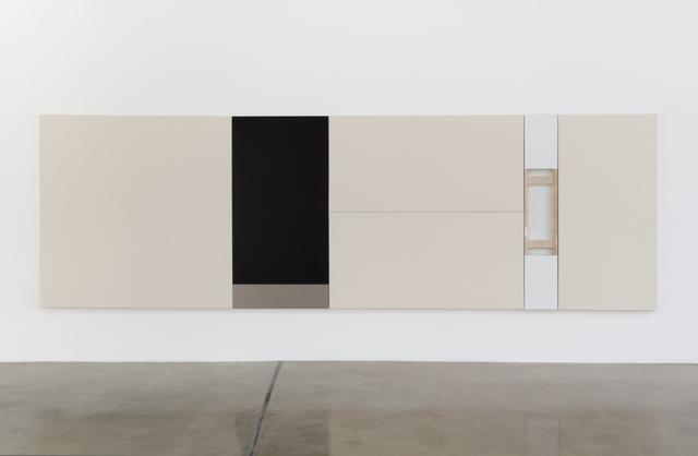 , 'Black & White (six panels),' 2015, SILAS VON MORISSE gallery