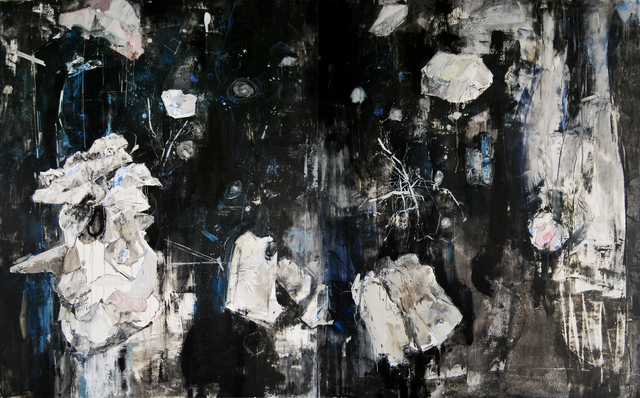 , 'Black Blue 黑蓝,' 2015, Qi Mu Space