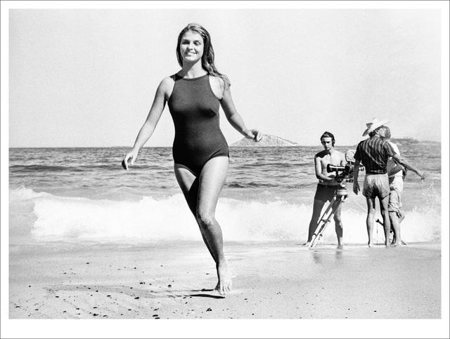 , 'Leila Diniz, filmando, 1968,' , Galeria Tempo
