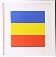 Ellsworth Kelly, Untitled (Blue/Yellow/Red)