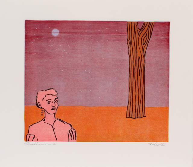 , 'Blood Moon,' ca. 1990, Benjaman Gallery Group