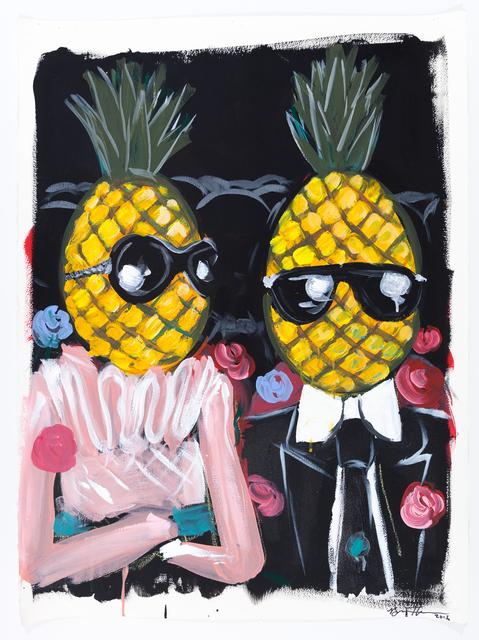 , 'Pineapple Stare,' 2016, ACA Galleries