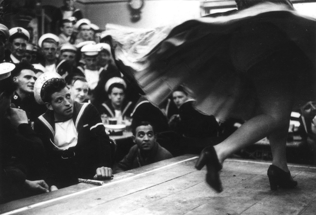, 'Gibraltar, The Combined Fleets Ashore,' 1954, The Photographers' Gallery